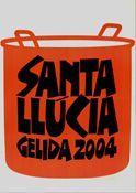 Cartell Santa Llúcia 2004