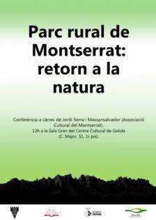 Parc rural del Montserrat: retorn a la natura