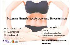 Taller de gimnàstica abdominal hipopressiva