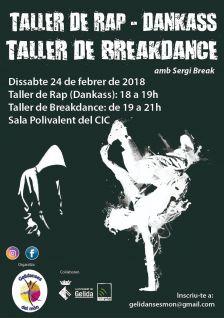 Taller re rap i breakdance