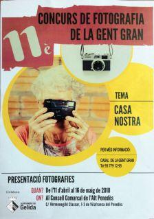 11è Concurs de fotografia de la Gent Gran