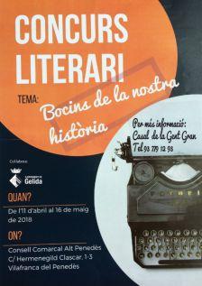 Concurs Literari per a la Gent Gran: Lletres des de l'Experiència