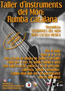 Taller d'instruments del Món: Rumba catalana