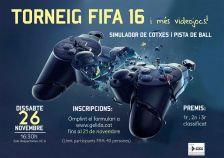 Torneig FIFA 16 i més videojocs!