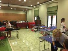 Sala de Plens en la Marató de donació de sang